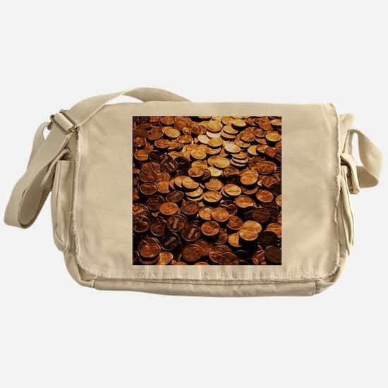 PENNIES Messenger Bag