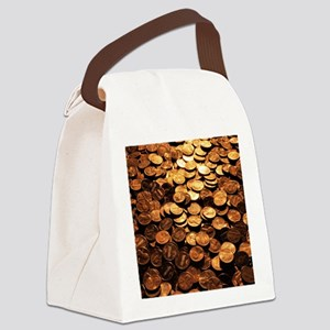 PENNIES Canvas Lunch Bag