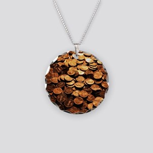 PENNIES Necklace Circle Charm