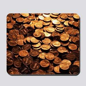 PENNIES Mousepad