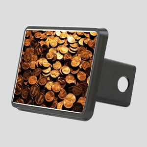 PENNIES Rectangular Hitch Cover