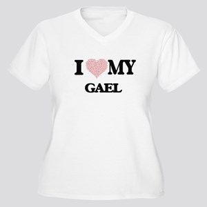 I Love my Gael (Heart Made from Plus Size T-Shirt