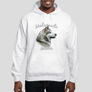 Malamute Mom2 Hooded Sweatshirt
