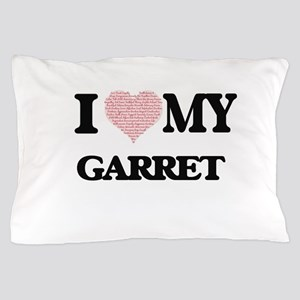 I Love my Garret (Heart Made from Love Pillow Case