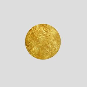 GOLD Mini Button