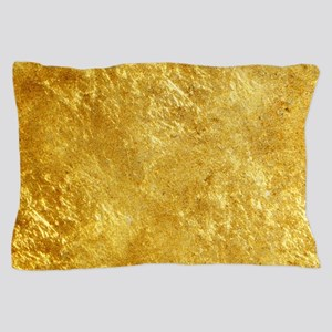 GOLD Pillow Case
