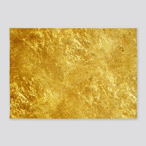 GOLD 5'x7'Area Rug
