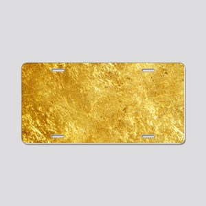GOLD Aluminum License Plate