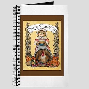Thanksgiving Pilgrim, Female Journal