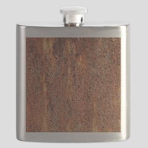 FLAKY RUSTING METAL Flask