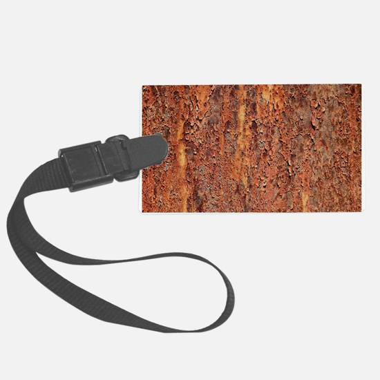 FLAKY RUSTING METAL Luggage Tag