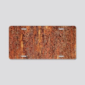 FLAKY RUSTING METAL Aluminum License Plate