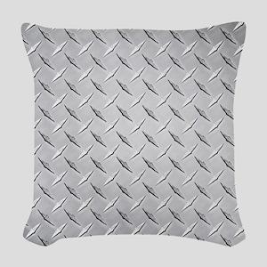 diamond Woven Throw Pillow