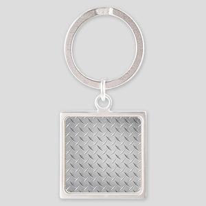 diamond Square Keychain