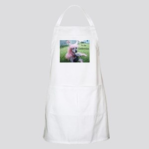 Chinese Crested Different BBQ Apron