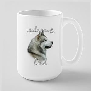 Malamute Dad2 Large Mug