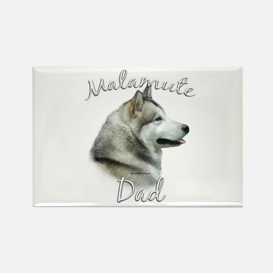 Malamute Dad2 Rectangle Magnet