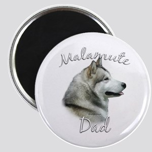 Malamute Dad2 Magnet