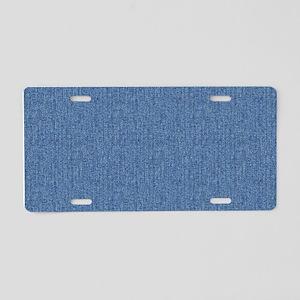 DENIM Aluminum License Plate