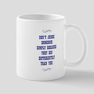 DON'T JUDGE... Mugs