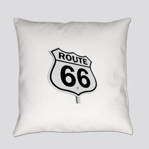 Route 66 Everyday Pillow
