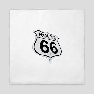 Route 66 Queen Duvet