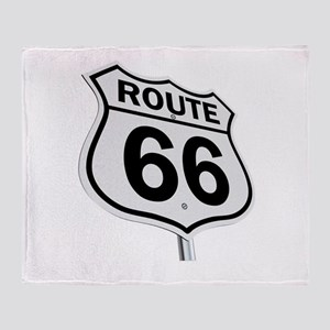 Route 66 Throw Blanket