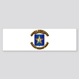 COA - 409th Regiment Sticker (Bumper)