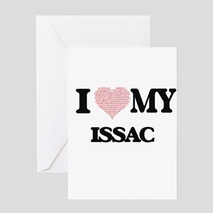I Love my Issac (Heart Made from Lo Greeting Cards