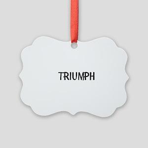 Triumph Picture Ornament