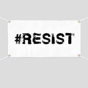 #RESIST Stamp Black Banner