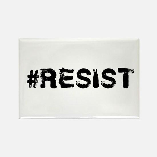 #RESIST Stamp Black Magnets