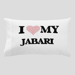 I Love my Jabari (Heart Made from Love Pillow Case