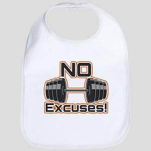 No Excuses Bib