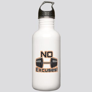 No Excuses Stainless Water Bottle 1.0L