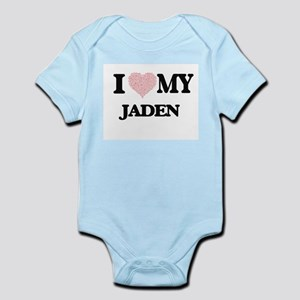 I Love my Jaden (Heart Made from Love my Body Suit