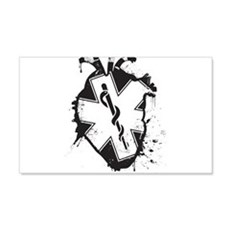 star of life heart Wall Decal