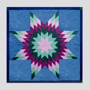 Star Quilt Tile Coaster