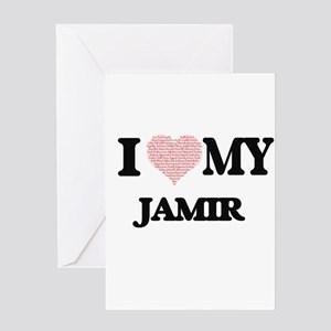 I Love my Jamir (Heart Made from Lo Greeting Cards
