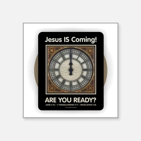 Jesus is Coming Sticker