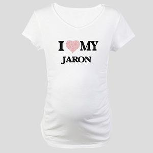 I Love my Jaron (Heart Made from Maternity T-Shirt
