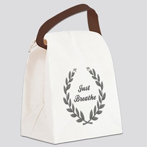 JUST BREATHE Canvas Lunch Bag