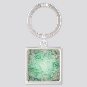 Wonderful roses pattern Keychains