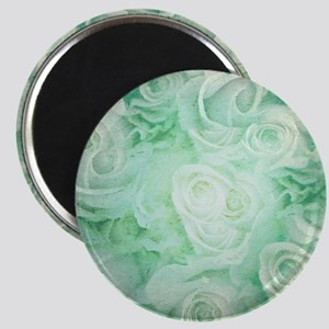 Wonderful roses pattern Magnets