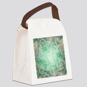 Wonderful roses pattern Canvas Lunch Bag