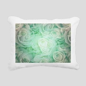 Wonderful roses pattern Rectangular Canvas Pillow