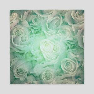 Wonderful roses pattern Queen Duvet