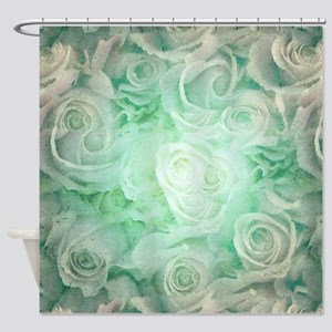 Wonderful roses pattern Shower Curtain