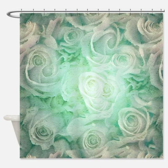 Wonderful roses pattern Shower Curtain