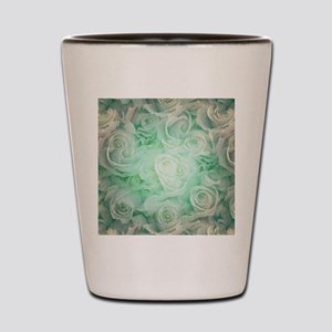 Wonderful roses pattern Shot Glass